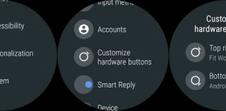 How to configure the hardware shortcut buttons on Android Wear 2.0