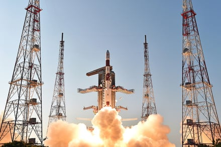 India just smashed the record for the most satellites launched by a single rocket