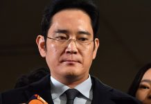 Samsung chief arrested in South Korea over bribing charges