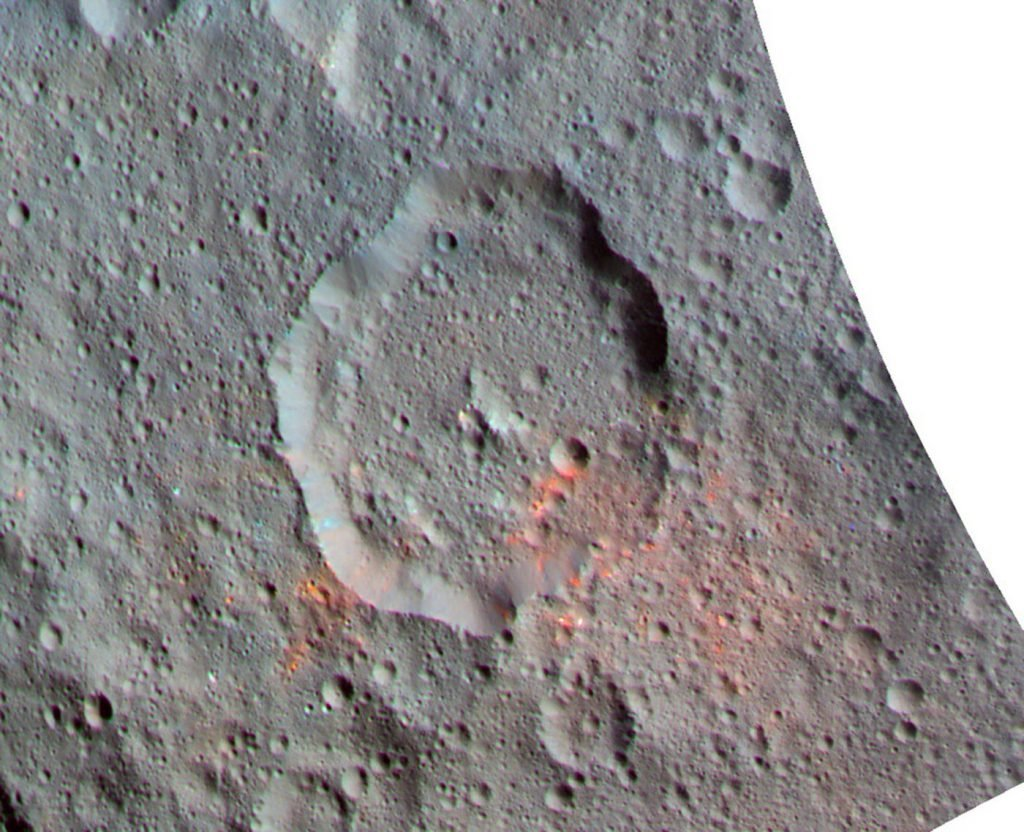 Dawn probe spots organic materials on dwarf planet Ceres