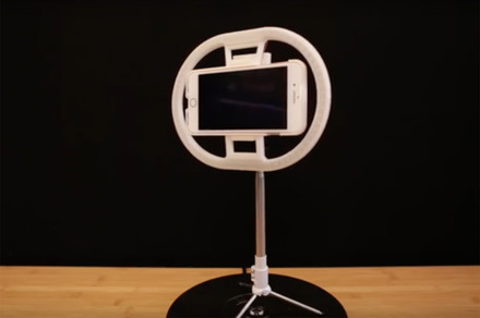 Build a smartphone ring light with a 3D printer and $60 in parts
