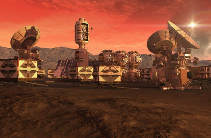 The UAE's next ambitious project is to build a city on Mars