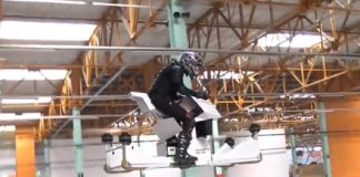 Scorpion S3 electric hoverbike looks terrifyingly fun