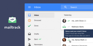 Mailtrack.io shows you when your email has been read, now available for Inbox