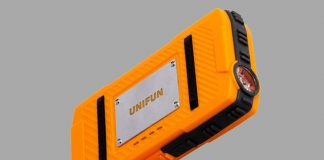 Charge your devices on the trail with the $13.50 Unifun waterproof power bank