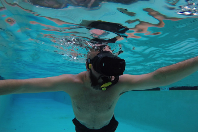 Want to simulate anti-gravity in VR? Use a headset in your swimming pool