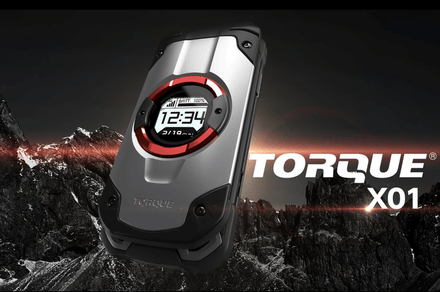 Military grade: Kyocera's Torque X01 may be one of the toughest phones ever made