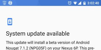 Android 7.1.2 beta now rolling out to the Nexus 6P