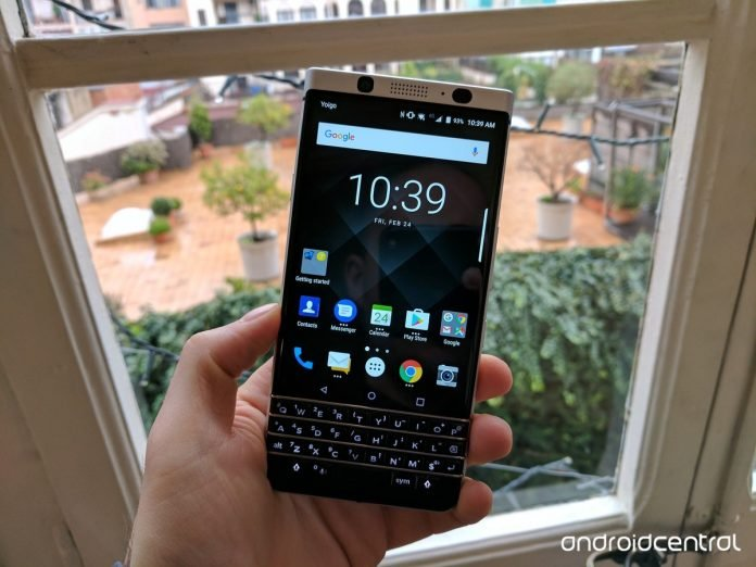 BlackBerry KEYone is the Mercury's official name, and it's coming in April for $549