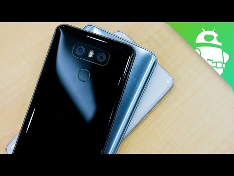 LG G6 hands-on: A return to form