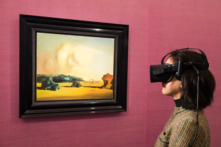 sothebys virtual reality surrealist art film sotheby vr