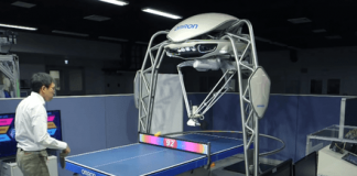 This awesome ping-pong robot has just earned a Guinness World Record