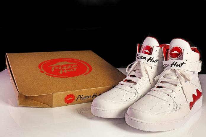 Pizza Hut's smart shoes will order a pie for you