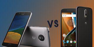 Motorola Moto G5 vs Moto G4: What's the difference?