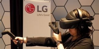 LG's SteamVR headset is a bulky yet promising HTC Vive alternative