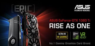 Asus has three cards in the works based on Nvidia's GeForce GTX 1080 Ti