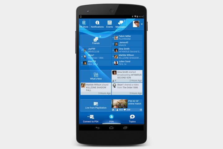 PlayStation-app-Screen