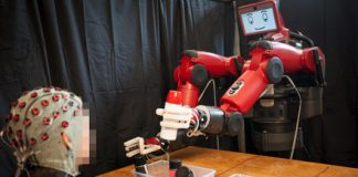 EEG technology lets users correct robots with their minds
