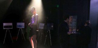 Designers dream of electric dresses at Paris Fashion Week