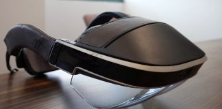 A closer look at the Meta 2 AR headset