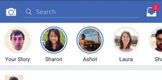 Facebook Begins Worldwide Rollout of its Main Snapchat Clone 'Facebook Stories'
