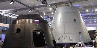 Russia's space agency preps for its first manned moon landing