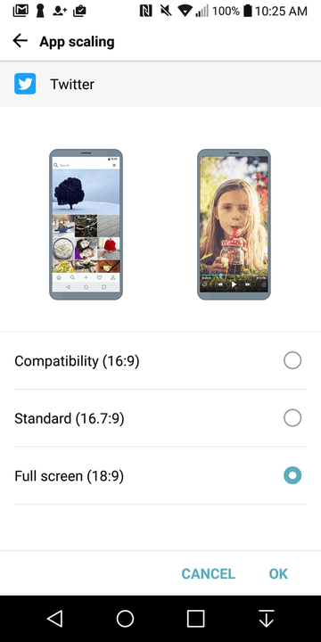 lg g  review screenshot