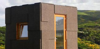 Put a cork in it: Tiny, minimal cork home is kind to the eye and environment