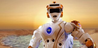 This Valkyrie R5 humanoid robot is put to the test with Mars colonization on the horizon