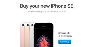 Apple to Offer iPhone SE in 32GB and 128GB Capacities