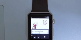 Someone made a Game Boy emulator for the Apple Watch