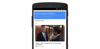 Google doubles down on the news part of its 'News & Weather' app