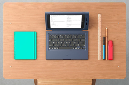 Logitech's 'Rugged Combo' keyboard case for iPad looks like it can take a bashing