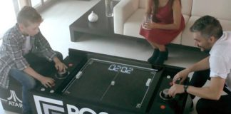 Coffee table-sized mechanical Pong game is the coolest Kickstarter in forever
