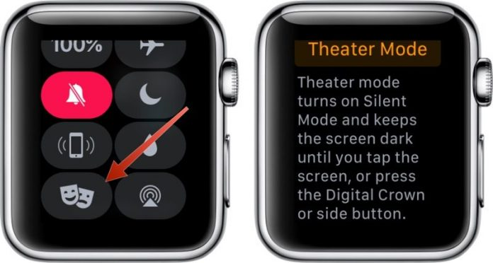 How to Use Theater Mode on the Apple Watch in watchOS 3.2