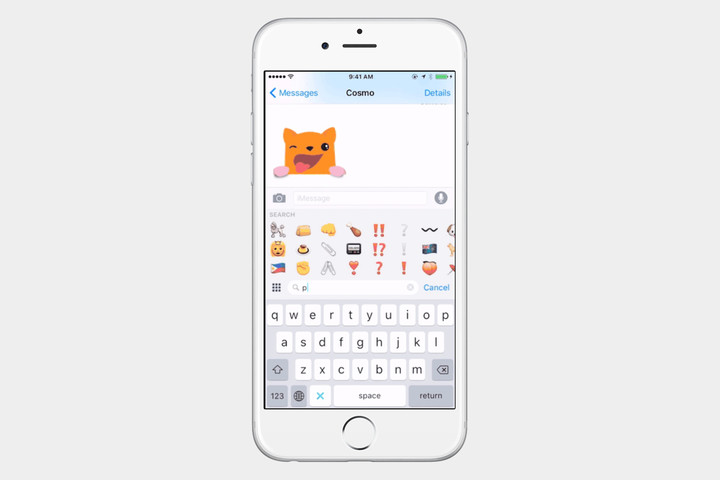 Apple Emoji Keyboard