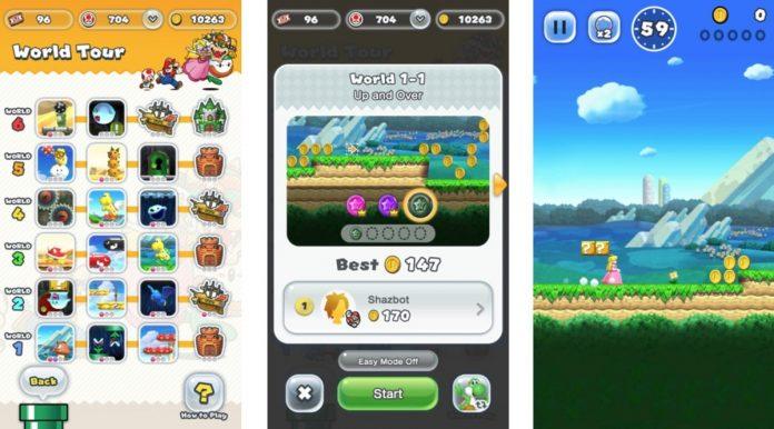 Super Mario Run is too repetitive to justify its premium price