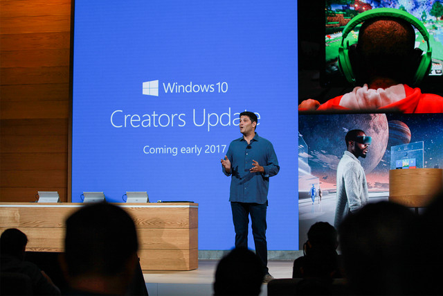 Install Creators Update early using an unreleased Upgrade Assistant tool, ISOs
