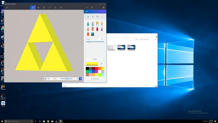 microsoft paint  d review windows screenshot