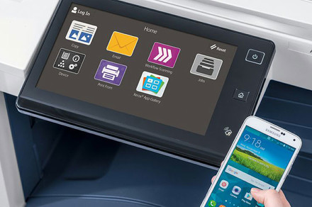 Xerox brings touch interfaces, apps, and personalization to office printing