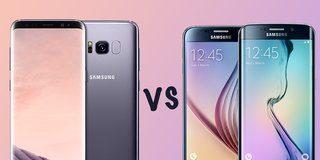Samsung Galaxy S8 vs S8 Plus vs S6 vs S6 edge: What's the difference?