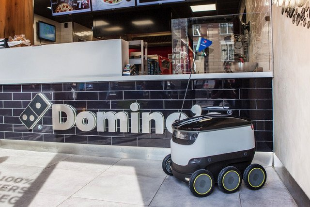 Robots finally make themselves useful, will deliver Domino's pizza in Europe