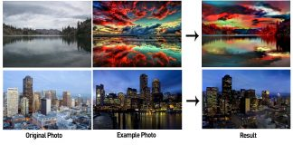 Adobe's experimental app copies one photo's style to another