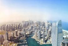 Can you find the Bentley in this 57.7 billion pixel photograph of Dubai?