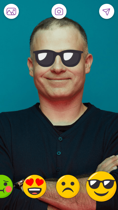 memoji by facetune turns selfies into emojis zeev farbman lightricks ceo sunglasses