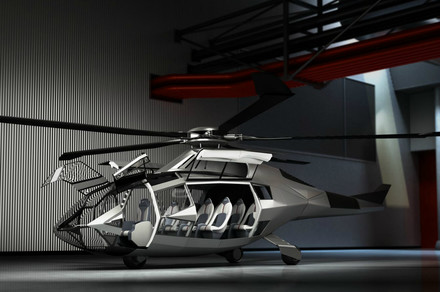 Bell FCX helicopter concept adds and subtracts — no dashboard, no tail rotor