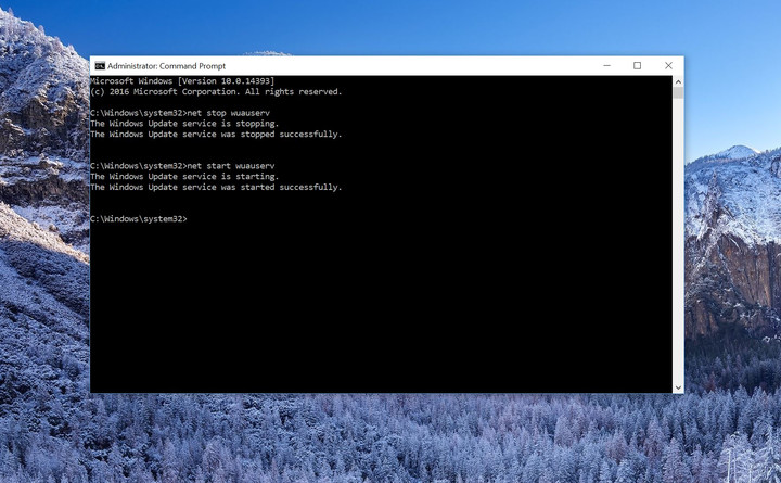 Command prompt windows