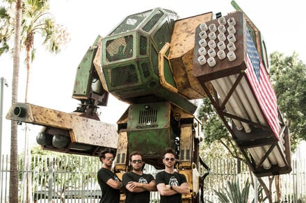 Japan and the U.S. are having a giant robot duel, and we have the deets