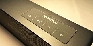 Mpow portable wireless Bluetooth speaker review
