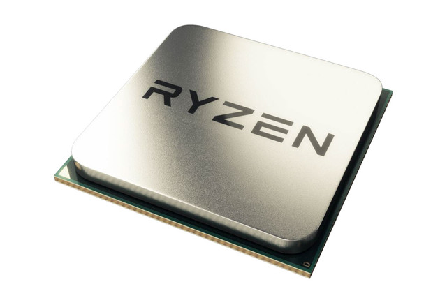 AMD Ryzen 5 1600X CPU overclocked to 5.9GHz with all threads enabled